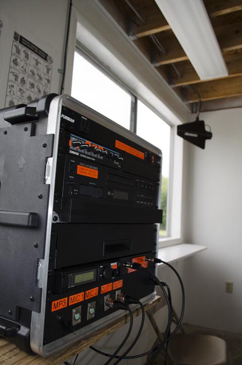 Control Box and Antenna
